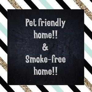 Smoke Free & Pet Friendly Home